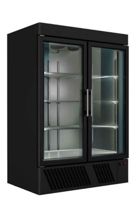Vertical Display Freezer Series Black UPF69
