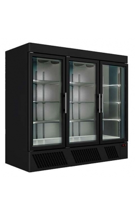 Vertical Display Freezer Series Black UPF205