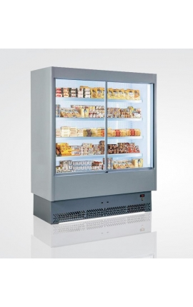 Vulcano 80VS 187 Self Service Cabinet with Sliding Doors and Plug-in Unit Italy 1.97m length