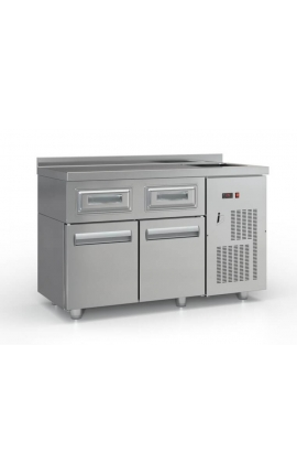 Refrigarated Coffe Station Cold Space and Doors - PSCAF13560-2SIR