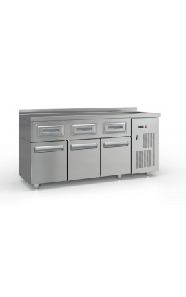 Refrigarated Coffe Station Cold Space and Doors - PSCAF18060