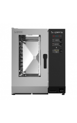 Gas Convection Oven with Boiler Lainox Italy 10 GN 1/1 Sapiens - Code: SAG101B