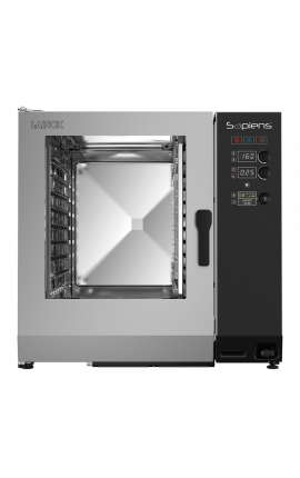 Gas Convection Oven with Boiler Lainox Italy 20 GN 1/1 Sapiens - Code: SAG102B