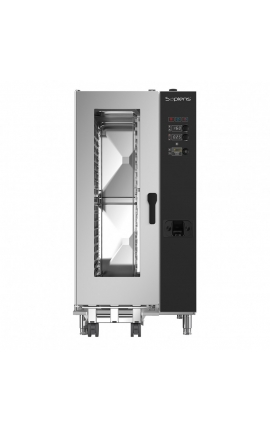 Gas Convection Oven with Boiler Lainox Italy 20 GN 1/1 Sapiens - Code: SAG201B