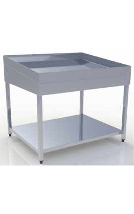 Inox Table Display for Fish TP-101-0