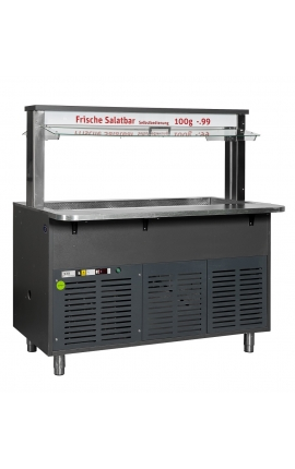 Salad Bar 1.50m for 4 GΝ 1/1 Germany - Code 0920-1939