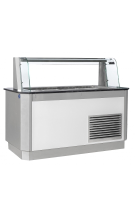 Salad Bar 1.75m for 4 GN 1/1 Germany - Code 0321-2088