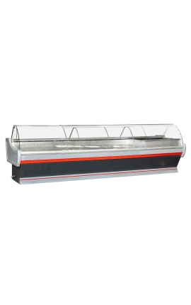 Serve Over Counter Display 4m with Cheese Counter Fridge - Code 1220-2009
