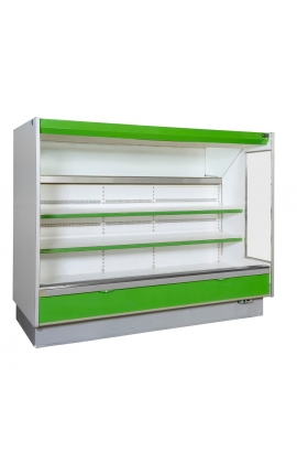 Fruit & Vegetable Cabinet 3.00m with External Unit - Code 0821-2184