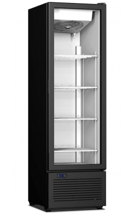 Upright Display Cooler with opening doors CR 300