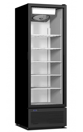 Upright Display Cooler with opening doors CR 500