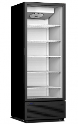 Upright Display Cooler with opening doors CR 600