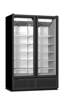 Upright Display Cooler with opening doors CR 1300