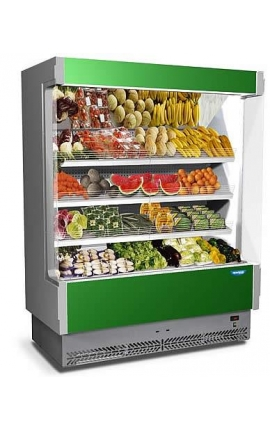 Vulcano 80FV 187 Fruit and Vegetable Cabinet with Plug-in Unit Italy 1.95m length