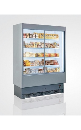 Vulcano 80VS 125 Self Service Cabinet with Sliding Doors and Plug-in Unit Italy 1.35m length