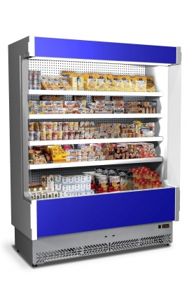Vulcano 80SL 125 Self Service Cabinet with Plug-in Unit Italy 1.33m length