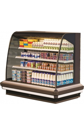 Lena 2 1250 Self Service Cabinets Low Profile 1.35m length