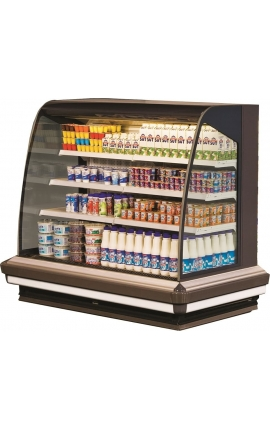 Lena 2 3750 Self Service Cabinets Low Profile 3.85m length