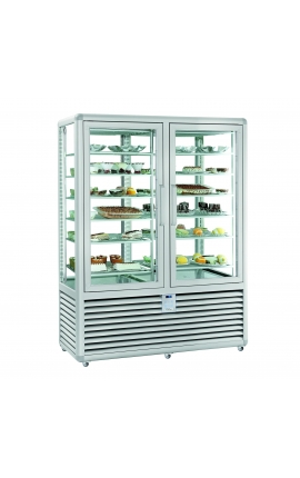 4 Sides Glassed Display Freezer Silfer Italy Curve Series CGL900SS
