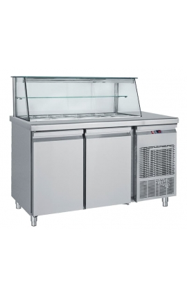 Salad Bar Refrigerated Display SM185