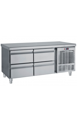 Inox Refrigerated low profile counter PS139