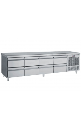 Inox Refrigerated low profile counter PS239