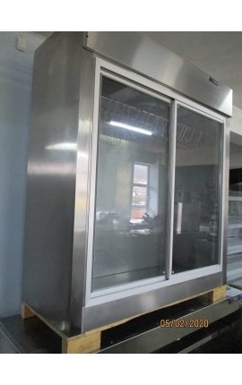 Refrigerated Meat Display 1,5m (Tabletop/wall mounted) - COD:1118-1304