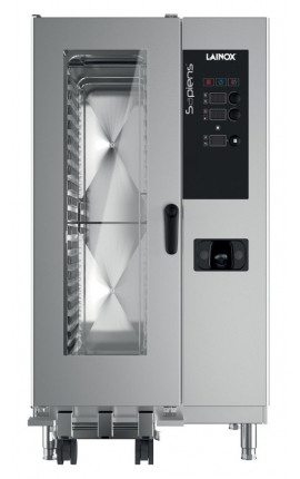 Electric Convection Oven Direct Steam Lainox Italy for 20 GN 1/1 Sapiens