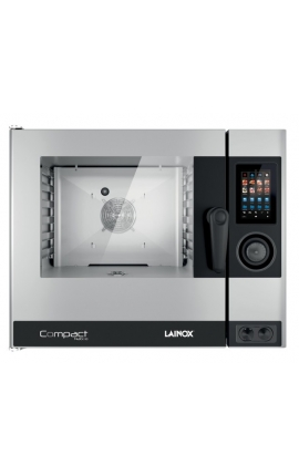 Electric Convection Oven with Boiler Lainox Italy for 6 GN 1/1 Compact Naboo