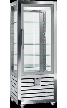 Upright Refrigerated Pastry Display 2Τ CGL 450 G 2T