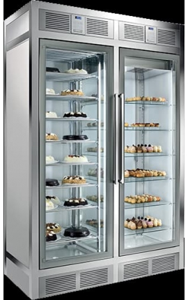 4 Sides Glassed Display Freezer Silfer Italy Wall Series WGL1100SS
