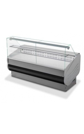 Serve Over Counter Display with Straight Glasses SALINA VD 1,5m