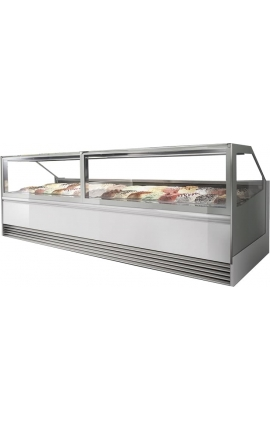 Ice Cream Display Cooled with Air PREMIUM 18