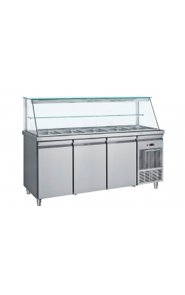 Salad Bar Refrigerated Display SM110