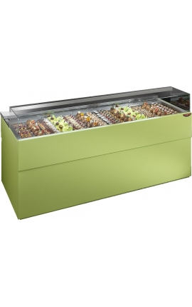 Showcase Pastry Cabinet with Flat Glasses - PK5R