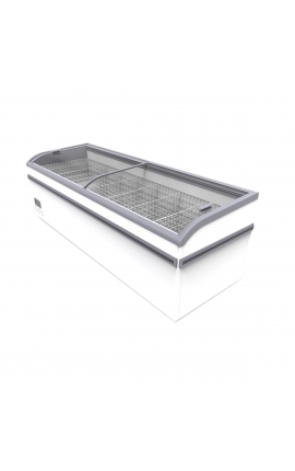 Display Freezer 2.50m with Curved Glasses Aegean