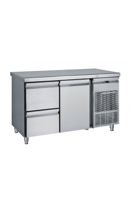 Fridge Counter Inox GN 385 Litre PG 139 SP