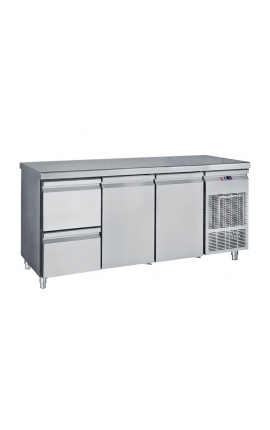 Fridge Counter Inox GN 510 Litre PG 185 1S2P