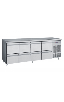 Fridge Counter Inox GN 385 Litre PG239S
