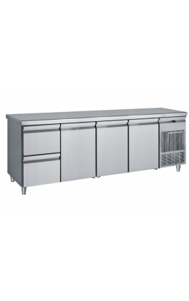 Fridge Counter Inox GN 680 Litre PG 239 1S3P