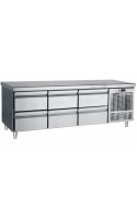 Inox Counter With Drawers