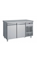 Inox Counter With Hinged Doors