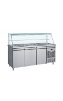 Inox Counters Fridges